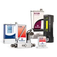 Průtokoměry aregulátory průtoku plynu