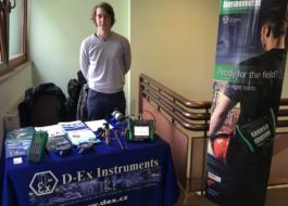 Firma D-Ex Instruments, s.r.o. vystavovala na KZSR